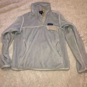 patagonia white pullover